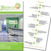 Printmedien Balance, Flyer